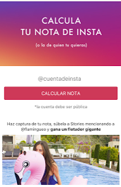 Flamingueo app para influencers