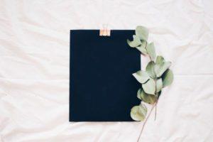 Cuaderno notas de publicidad en instagram